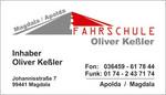 Visitenkarte Fahrschule Keßler