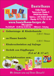 Flyer Bastelhaus Berger