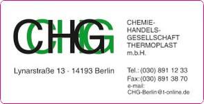 Aufkleber CHG Berlin